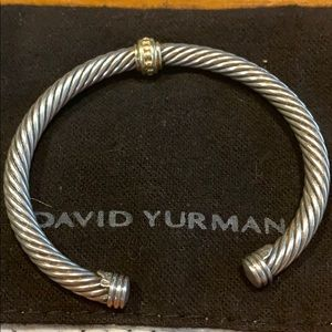 DAVID YURMAN Sterling silver and gold